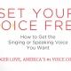 صدای خود را آزاد کنید